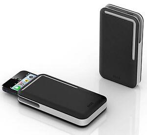 DOSH - SYNCRO Lunar compact men's designer iPhone 5/5S wallet / case / sleeve