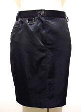 UNGARO PARIS Gonna Donna Raso Jersey Woman Satin Party Skirt Sz.M - 44