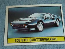 Sammelsticker Nr. 77 Bild Sticker Auto 2000 308 GTBi Quattrovalvole Panini 1985