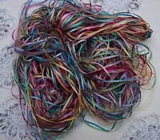 EMBROIDERY RIBBON 100% SILK 2MM  50 YD  ASSORTM.