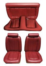 1974-77 Mustang II Upholstery Cover Kit - Front and Back seating area, New