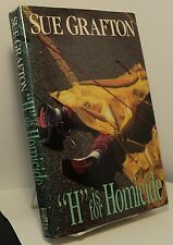 H is for Homicide by Sue Grafton - First edition