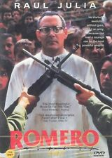 ROMERO (1989) DVD - John Duigan (NEW) / NO CASE (Only Cover & Disc)