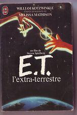E.T. l'extra terrestre - j'ai lu - roman