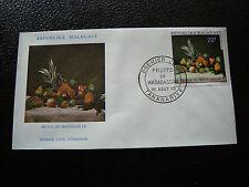 MADAGASCAR - enveloppe 18/8/70 - fruits de madagascar - yt n° 476 - (cy7)(A