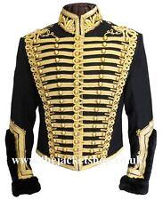 Officiers napoléoniennes hussards uniforme militaire tunique pelisse-veste