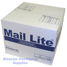 50 Mail Lite White D/1 JL1 Padded Envelopes 180 x 260mm