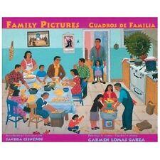 Family Pictures/Cuadros de Familia by Carmen Lomas Garza Paperback Book (Spanish