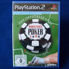 Ps2-playstation ► world series of poker ◄ NEUF & OVP