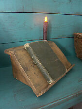Primitive Grungy Journal Book Rest Stand Pattern/Plan WN159