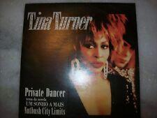 """7"""" Single P/S 45 - TINA TURNER - PRIVATE DANCER - 1984 - Brazil"""