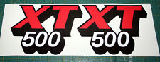 Adesivi serbatoio Yamaha XT 500 1981 - adesivi/adhesives/stickers