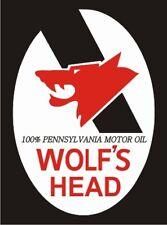 Vintage Wolf's Head Pennsylvania Oil Decal - The Best