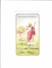 1 card Alfred Mainzer 20839 Lithuanian Easter Greeting Card