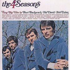 The 4 Seasons Sing Big Hits by Burt Bacharach Hal David Bob Dylan/FOUR SEALED CD