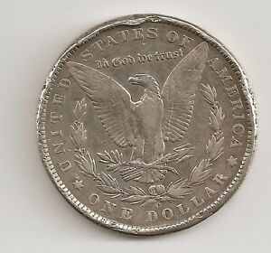 1886-O Morgan Silver Dollar ~ Deform Rim