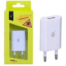 Chargeur secteur port USB 2.4A Samsung Galaxy S4 Mini  - Blanc