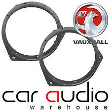 """Vauxhall Corsa C 2000-06 6.5"""" 17cm Front Door Car Speaker Ring Adaptors SAK-3001"""