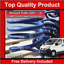 RENAULT TRAFIC 01-14 GENUINE H&R 35MM SPORT LOWERING SUSPENSION SPRING SET OF 4