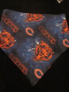 NFL Football Chicago Bears Dog Bandana Hand Made Brand New