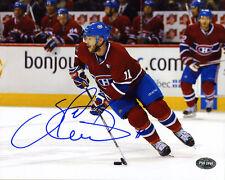 Saku Koivu SIGNED 8x10 Photo Habs Montreal Canadiens PSA/DNA AUTOGRAPHED