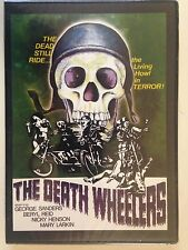 The Death Wheelers (DVD, 2013) 70's Motorcycle Undead Horror OOP (NEW/SEALED)