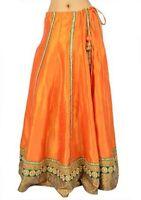 UNIQUE Fashion Boho Kuchi Tribal Belly dance Skirt Indian Lengha Bollywood Mexi