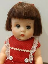 "1950s Vintage Eegee 15"" Hard Plastic Doll Original Clothing"
