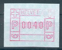 Schweiz,Lot 6 Automatenmarken mit Abarten, postfrisch, mit Vorläufer pracht