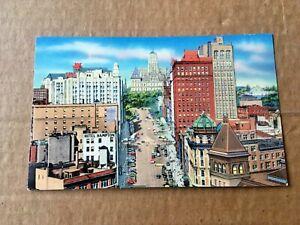 Vintage Color Postcard State Street Albany New York