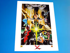 Universe X Lithograph Signed by Alex Ross 144/299 Marvel Comics Dynamic Forces