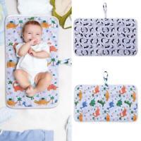 Portable Folding Baby Diaper Travel Changing Pad Nappy Bag Waterproof Mat Bag