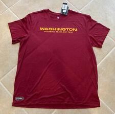 Washington Football Team New Era Dri Fit Mens XL T Shirt Sold Out 2020