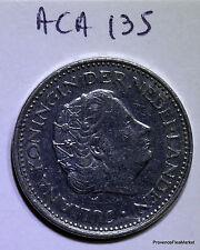 Monnaie Pays-bas / Netherlands 1 gulden 1971 nickel aca135