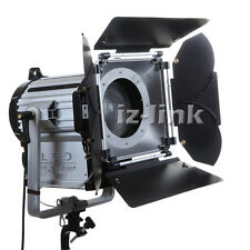 300W LED Fresnel Dimmable Bi-color Wireless Remote Spotlight for video studio
