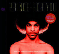 Prince For You Expanded Album Collector's Edition CD 2 Discs Purple Gold Archive