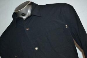21825-a Mens Linksoul Golf Jacket Athletic Blue Polyester Size Large