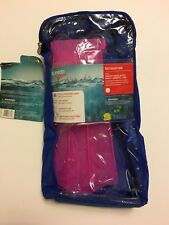 New Speedo Aqua Quest Dive Fins Sz L/XL Shoe Sz 3-5 Pink