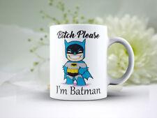 Ceramic Coffee Mug 11 Oz  Mug Bitch Please I'm Batman Cute Coffee Mug #2