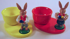 Egg Cups Bunny Figurines FGZ9124