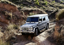 "2013 MERCEDES BENZ G CLASS OFF ROAD A4 POSTER GLOSS PRINT LAMINATED 11.7""x8.3"""