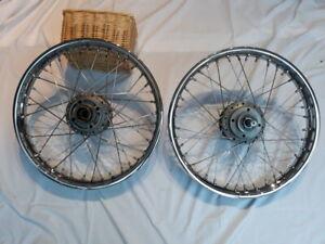 Triumph T160 wheels