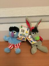 Tyco Sesame Street Beans Benny Rabbit And Herry Monster New With Tags