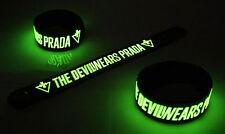 The Devil Wears Prada Glow in the Dark Rubber Bracelet Wristband  vg244
