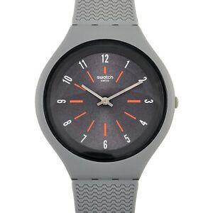 Swatch Skinshado Grey Dial Men's Watch SVUM103