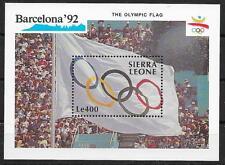 pa968 OLYMPIA 1992/ Sierra Leone MiNr Block 138 **