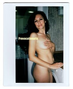 Instax Wide Polaroid Photo Of Nude Russian Woman (XE18)