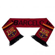 Fc Barcelona Bufanda Roja, Amarilla Y Negra, equipo de fútbol Match Fan Club Crest Nuevo
