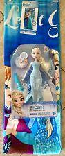 NIB~Disney Frozen Elsa's Magical Story Cape Doll & Beach Towel-ship free