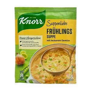 6x Knorr Suppenliebe 🍲 Frühlingssuppe spring vegetable soup ✈TRACKED SHIPPING